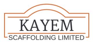 Kayem Scaffolding Logo